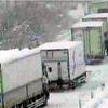 大雪、計550台が断続的に立ち往生…鳥取