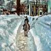 靴用滑り止めが気になる。雪の日の翌日は道がガチガチに凍るから