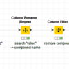【KNIME】Transpose rows to multiple columns by category