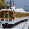 近江鉄道 雪の記録(2020-21) <8> 年越しの雪 (1/1~1/4)