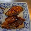 幸運な病のレシピ( 911 )夜:牛丼の頭、イワシ仕立て直し(生姜テリテリ)、汁仕立て直し(ネギドッサ)