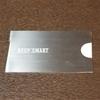 極薄なステンレス製の名刺入れKEEP SMART(キープスマート)!