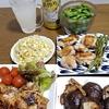 美味しい給食☆鶏肉のマスタード焼き☆具だくさん味噌汁☆