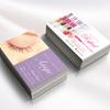 【可愛い名刺をつくりたい!】女性人気のサロン名刺|ネイリスト名刺やアイリスト向けの名刺デザイン