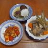 幸運な病のレシピ( 2137 )朝 :アジの塩焼き、魚さばいたので昼は天ぷら、ベビーホタテの味噌汁