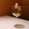 殿堂入りのお皿たち その11 【エールのワイングラスの中にお花の咲いた、スペシャリテAir】