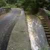 水の流れを維持するためにつくられた水路付き跨線橋 福岡県北九州市小倉南区大字呼野