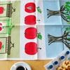 北欧キッチン雑貨|アルメダールス キッチンタオル「アップルジャム」