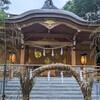 小金井神社へ茅の輪をくぐりに行ってみた。(小金井市中町4)