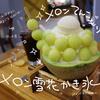 しあわせ感あるメロン丸ごとひと玉のメロン雪花かき氷を食べに、台湾「Caramel Park」へ
