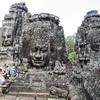 アンコール・トム(Angkor Thom)のバイヨン寺院。