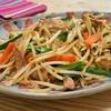 簡単!!たっぷりもやしのピリ辛肉野菜炒めの作り方/レシピ
