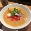 銀座 篝 本店にて鶏白湯醤油sobaを。
