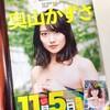 奥山かずささんが11月5日発売のヤングキングBULLに登場します!