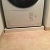 脚立と工具箱と洗濯機