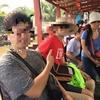メコン川クルーズにお客様のアテンドをしました。