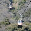 ロープウエイで火の山頂上へ:山口県下関市