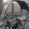 ≪自転車用雨よけカバーコロポックル≫異音対策①キシミ音を探る