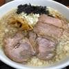 相模大野肉煮干し中華そば鈴木ラーメン 背脂煮干し平打ち麺を喰らう‼️あっさりしているがコクのあるスープは絶品だね。