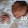 【2w6d】新生児トラブル-鼻フガフガ・鼻詰まり-(day20/222)