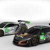 2017年シーズンのデイトナ24時間レースに参戦するアキュラNSXのカラーリングを公開