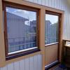 窓枠再塗装