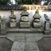 廃寺より移された 三浦一族開祖と三代の墓(横須賀市)