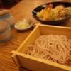 西八王子『蕎麦 坐忘』昼の天もり桜二色を食す(蕎麦1軒目)