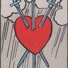 タロットカード:小アルカナ ソードの3