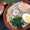麺喰らう(その 120)煮干しつけ蕎麦(冷)