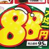 デザイン イラスト サンタ帽子 大均一 オークワ 12月5日号