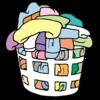 【施設から持って帰る洗濯物が山盛りに増えた!】
