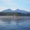 小野川湖カヤックキャンプ2日目/三本ローラー流し