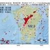 2016年09月30日 05時02分 熊本県天草・芦北地方でM2.3の地震