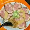 【北・東区】ラーメン桃太郎。駐車場広々、小上がりあり!こだわりの麺も選べます。