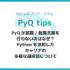 なぜPyQは就職/転職支援を行わないの?プログラミング学習からPythonを活かしたキャリアプランについて、3つの段階に分けてまとめます。