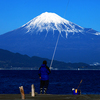 富士箱根伊豆5 大国主の新婚旅行(三保の松原)