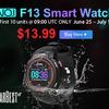 GearBest 6月25日~7月1日の週間セール!50m潜れるスマートウォッチ「NO.I F13」が1,574円!