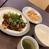 いつものバーミヤンでお手軽ランチ、茄子と豚ひき肉のピリ辛炒めランチを頂いた! #グルメ #食べ歩き #ファミレス #日替わりランチ