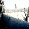 アミアン大聖堂の屋根の意外な装飾と尖塔