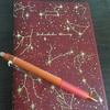 手帳に目標を書こう!