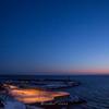 【冬の焼尻島vol.2】ブルーアワーと海藻採集の風景