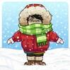 大 雪 に つ き 早 仕 舞 い に❢