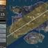 「PUBG」飛行機の経路からパラシュートで届く範囲を示すマップツール