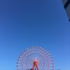 昨日は、ある意味「台風一過」で真っ青な青空。しかも透き通っていた