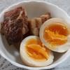 豚の角煮の煮汁で簡単煮卵