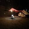 雨のかずさオートキャンプ場