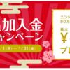 【WealthNavi】追加入金キャンペーンで最大30000円をゲット!