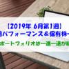 【株式】運用パフォーマンス&保有株一覧(2019.6.7時点) MYポートフォリオは一進一退が続く