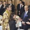 ピコ太郎さんや米倉涼子さんも、夕食会に76人